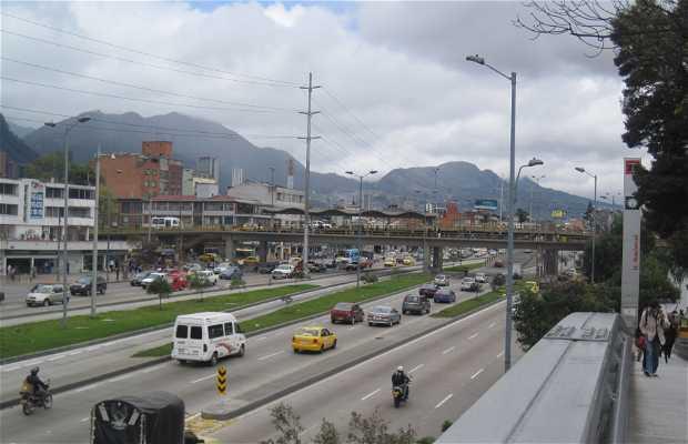 El Puente Peatonal de la Universidad Nacional