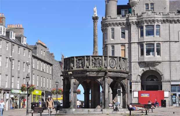 Mercat Cross in Aberdeen