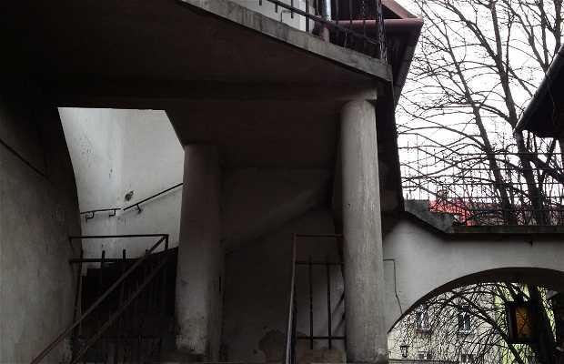 Escaleras de 'La Lista de Schindler'