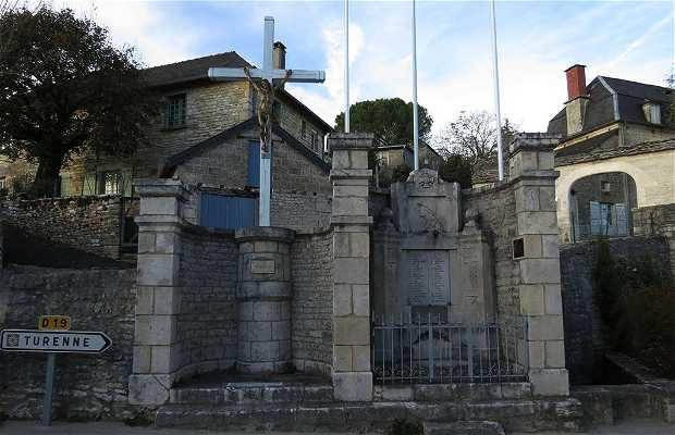 Monument aux Morts de Nespouls