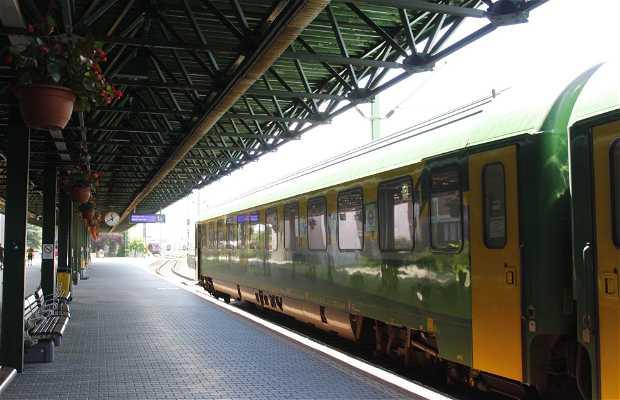 Estación de trenes de Sopron
