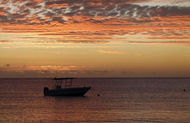 Pôr do sol Nacula Island