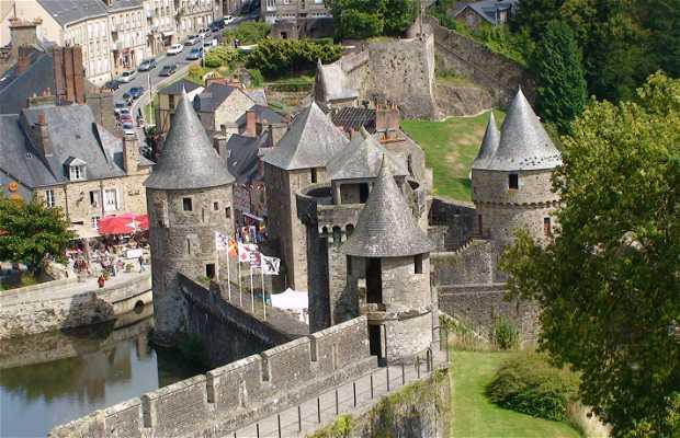 Château fort de Fougères