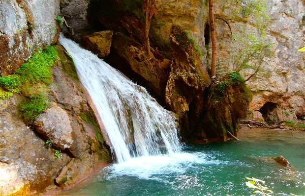 Ruta de la cascada Belabarce
