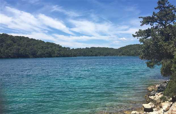 Malo jezero en Mljet