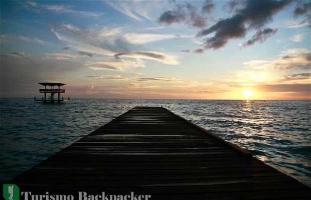 Por do sol em Curaçao