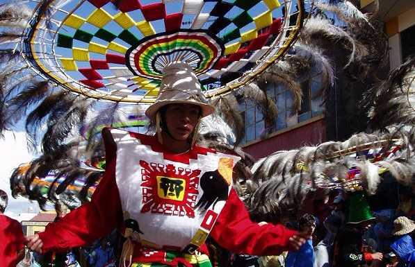 Il carnevale di Oruro, Bolivia