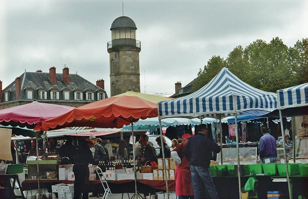 Au marché de Brive-la-Gaillarde