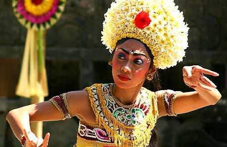 Spettacolo di danze balinesi