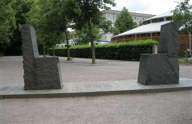 Monumento a Hafiz e Goethe
