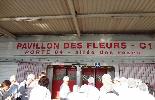 Pavillon des fleurs du MIN de Rungis