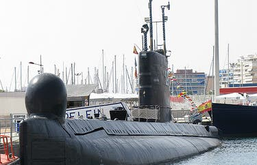 El submarino de Torrevieja