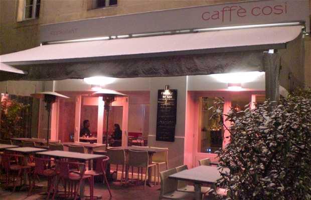 Caffe Cosi