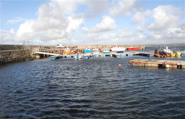 Puerto pesquero de Bowmore