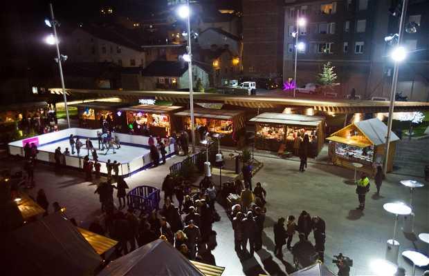 Mercado de Navidad en la Massana - Andorra