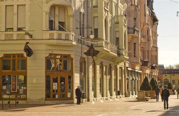 Avenida peatonal Kárász