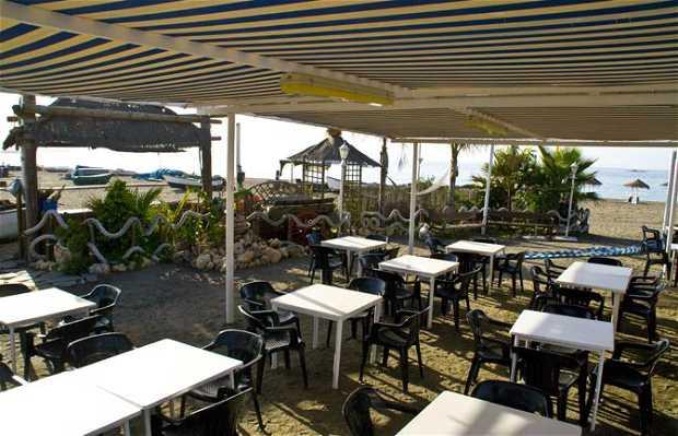 Rompeolas beach bar
