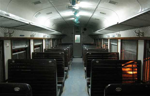 Train de Lao Cai à Hanoï
