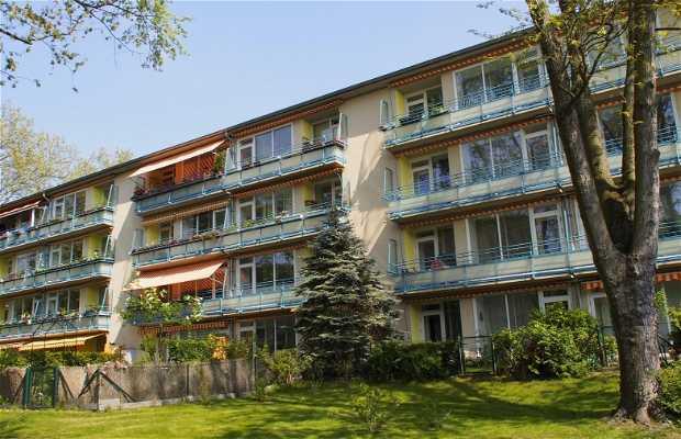 Bloque de viviendas modernistas en Berlín