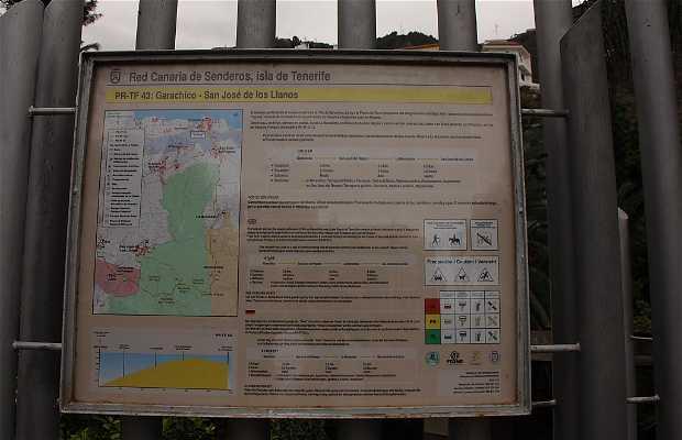 Ruta de Sendero. Garachico San José de los Llanos