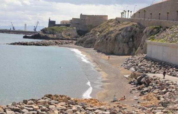 Playa de la Alcazaba