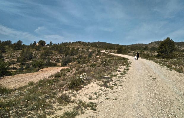 Ruta senderista Sierra de El Carche