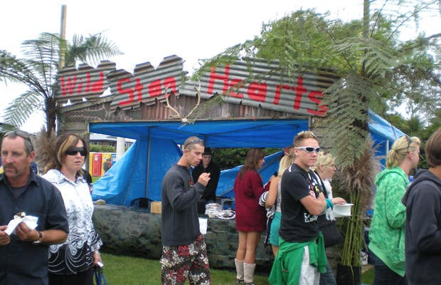 Wildfoods Festival in Hokitika