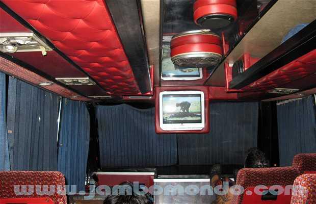 Ônibus VIP de Bangkok a Chiang Mai