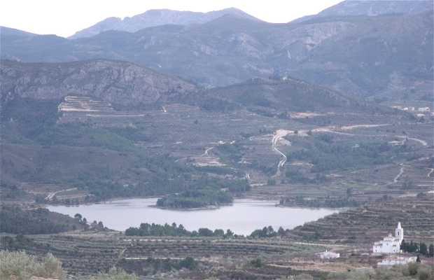 Trayecto Beniarrés-Castelló del Rugat