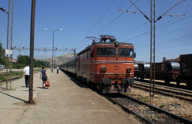 Comboios da Macedónia