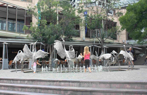 Storks Fountain