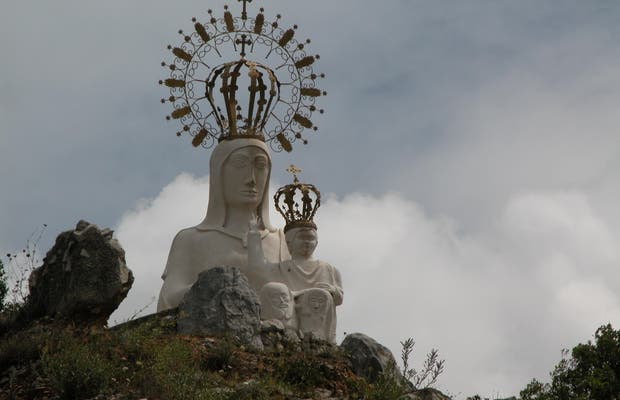 Virgen de santoña