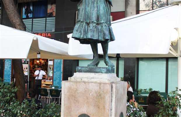 Estatua Raquel Meller