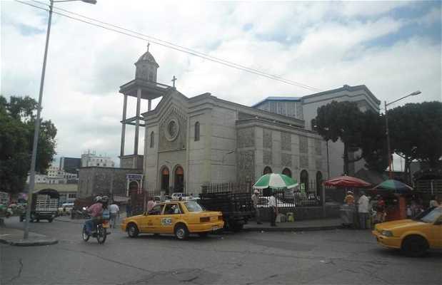 El mercado de la iglesia de Armenia