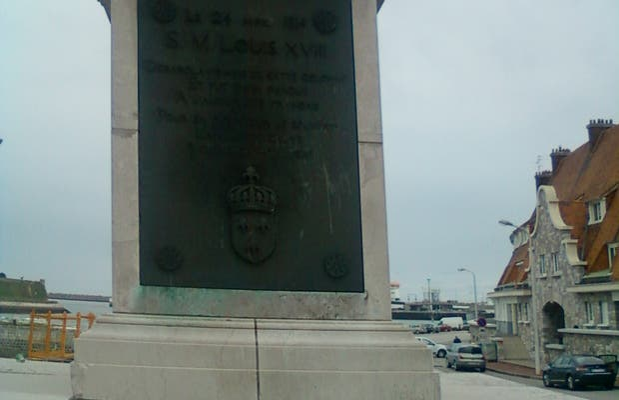 Luis XVIII columna