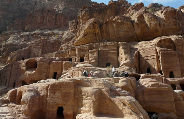 El interior de Petra