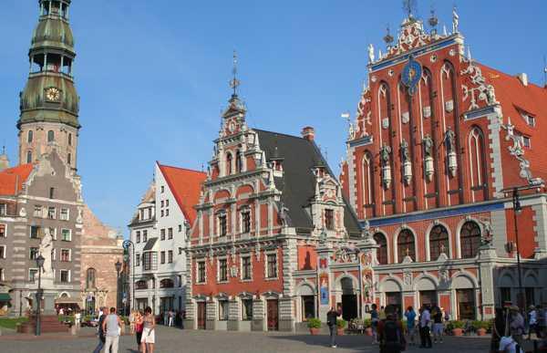 Place de l'Hôtel de Ville de Riga