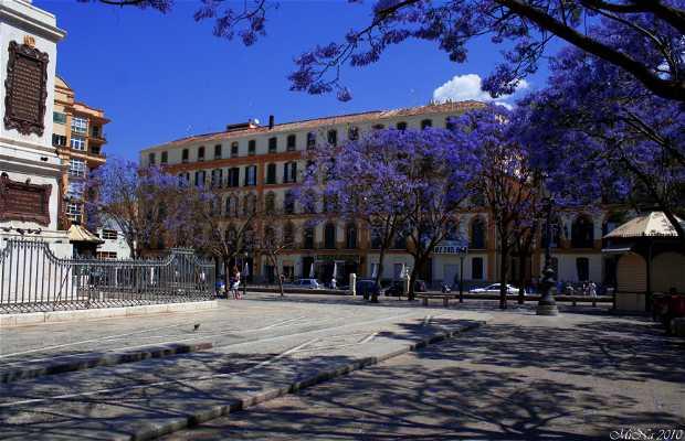 Plaza de la Merced a Málaga