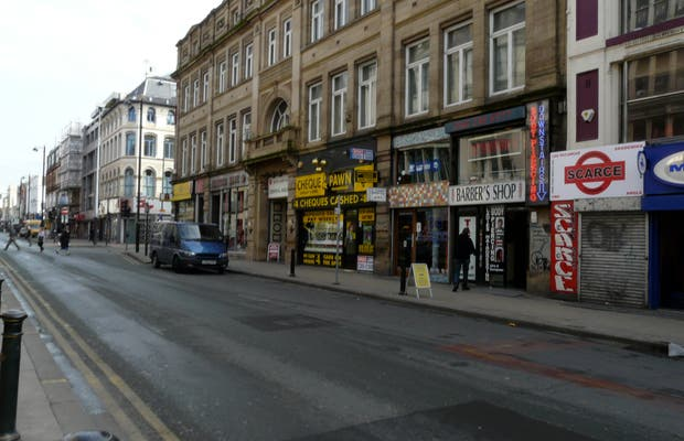 Calle Oldham - Barrio bohemio