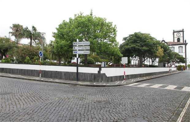 Plaza ayuntamiento Vila Franca do Campo