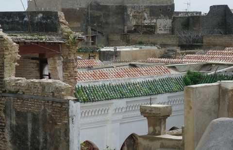Los techos de Meknes