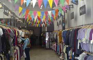 Achat de vêtement à Palermo Soho