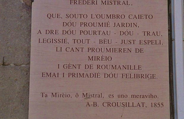 Frederic Mistral and the Occitan