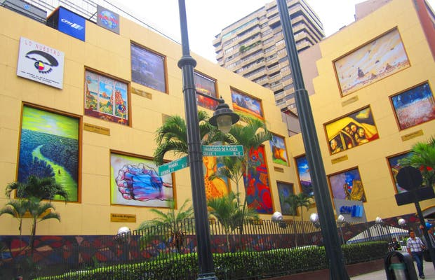 Mural del Banco Central Guayaquil
