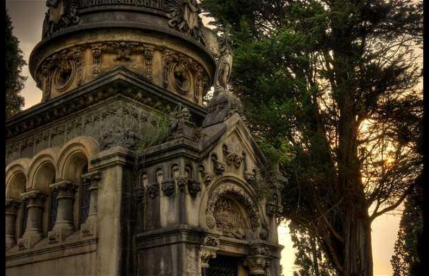 Cemetery in Bilbao