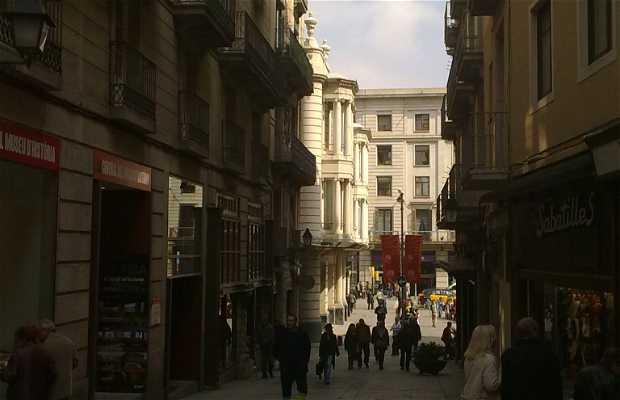 Calle baixada de la llibreteria