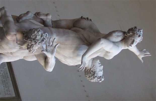 Estatua del Ratto delle Sabine