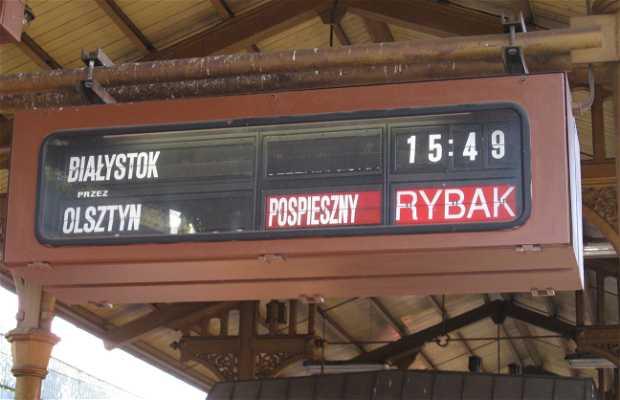 Estacion de tren de Gdansk