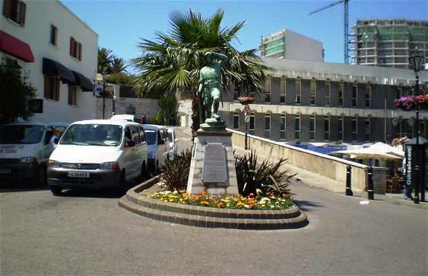 Statue en l'honneur des Volontaires