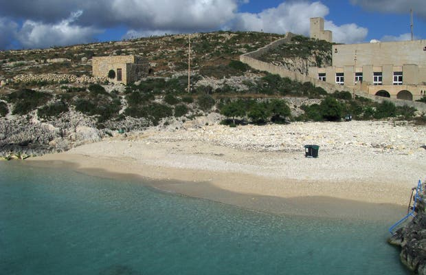 Playa de Hondoq ir-Rummien